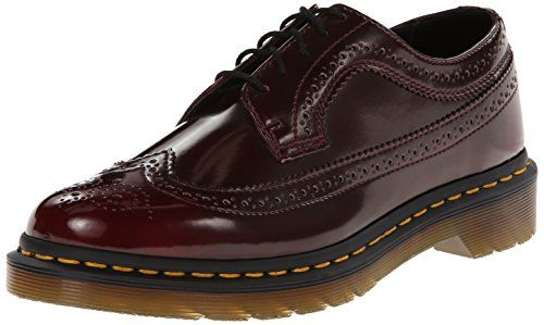Dr Martens Womens Vegan 3989 Oxford cherry red 6 UK8 B US -- See this great  product. (This is an affiliate link)   Oxford Shoes Women in 2018    Pinterest ... 0acf29a66946