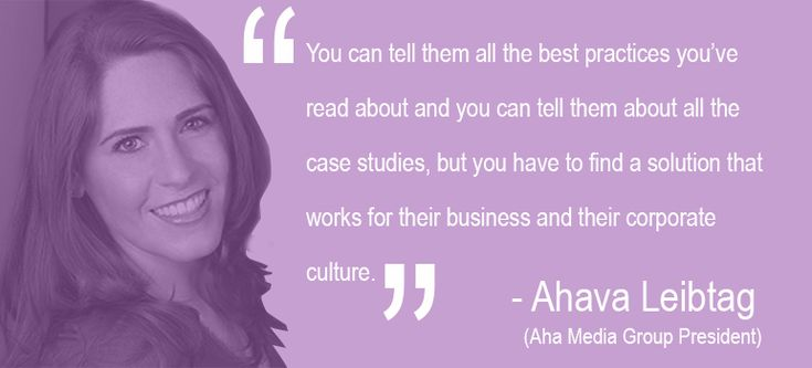 "Aha Media Group president and author Ahava Leibtag talks with iAcquire about #content strategy, ""The Great Schism"" and being comfortable with making it up as you go along."