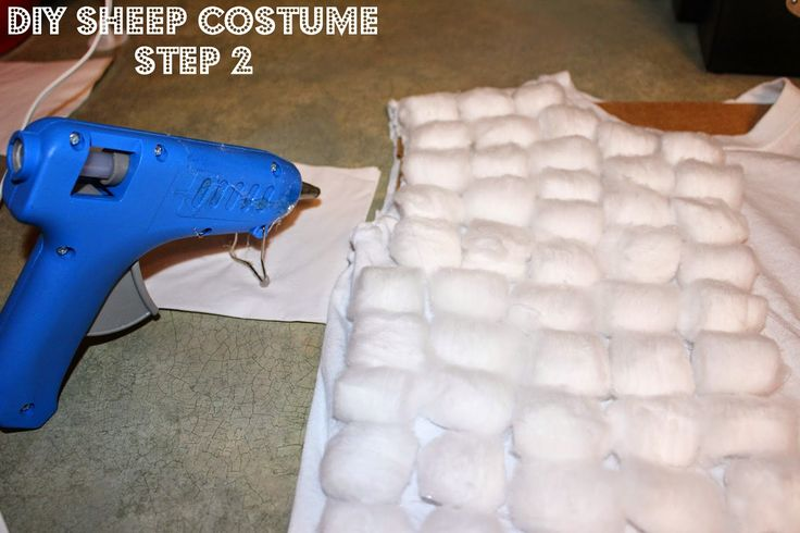 Housewife on a Mission: DIY Sheep Costume Step by Step Guide