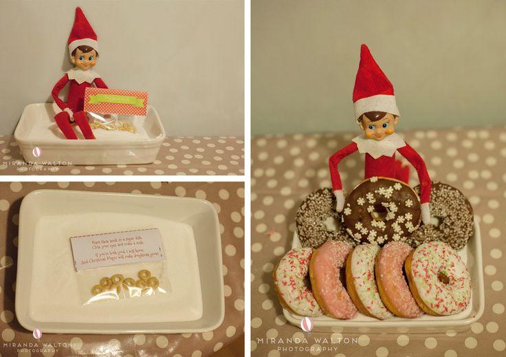Elf on the Shelf by Miranda Walton Photography #elfontheshelf