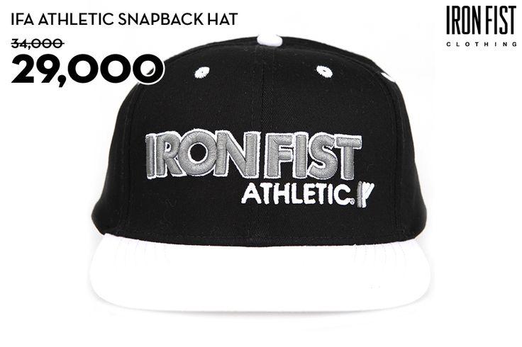 IFA ATHLETIC SNAPBACK HAT (WHITE) / 34,000원 → 29,000원 http://www.ironfist.co.kr/shop/goods/goods_view_athletic.php?goodsno=431  #ironfist #아이언피스트 #athletic #운동 #건강 #피트니스 #스포츠 #모자 #스냅백