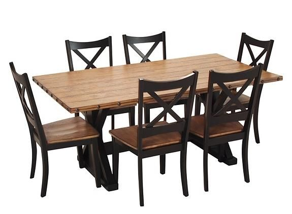 dermot 7 pc dining set dining sets raymour and