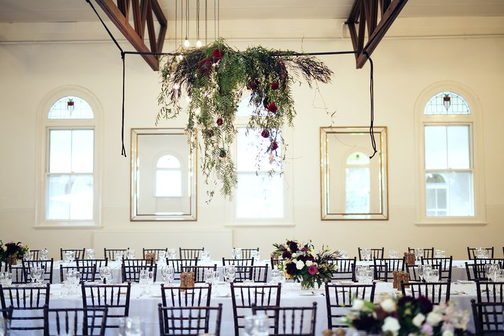 Hanging Floral, Bright blooms, Unstructured, Wedding flowers