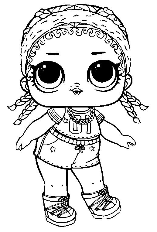 Coloring | Adult Coloring Art | Lol dolls, Doll drawing, Coloring