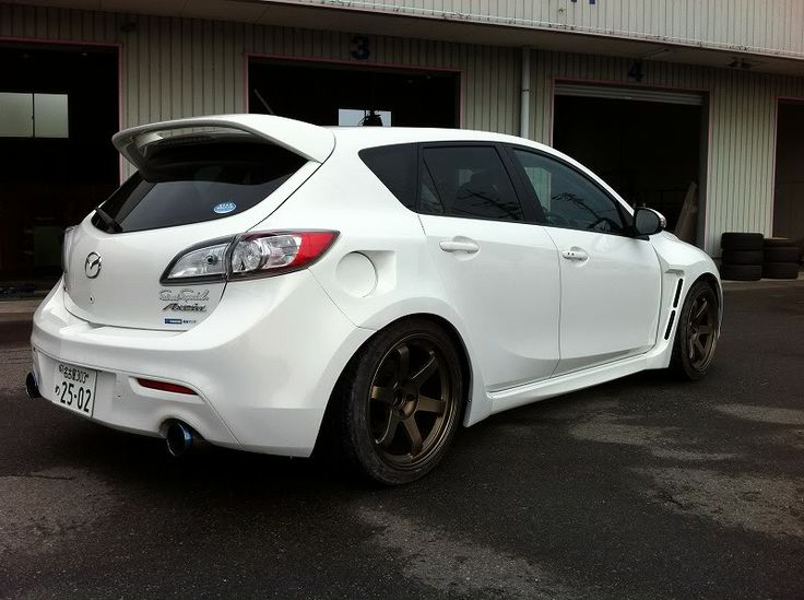 2010 mazda 3 widebody