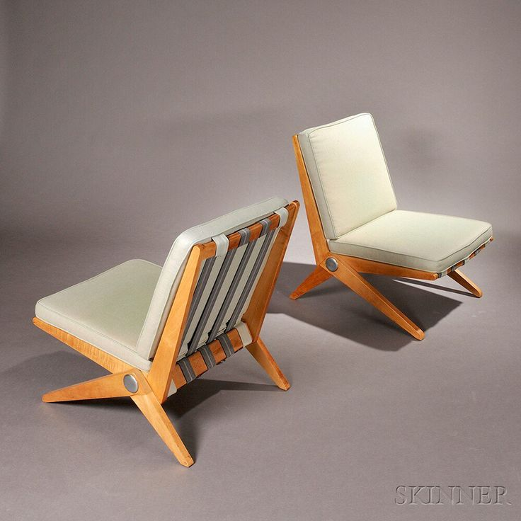 26 best Pierre Jeanneret Mod 92 Scissor Chairs images on Pinterest