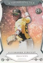 2014 Bowman Platinum Top Prospects #TP-AH Alen Hanson, Pittsburgh Pirates