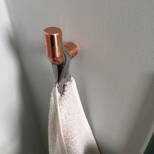 Bathroom Toilet Roll Holder And Towel Rail