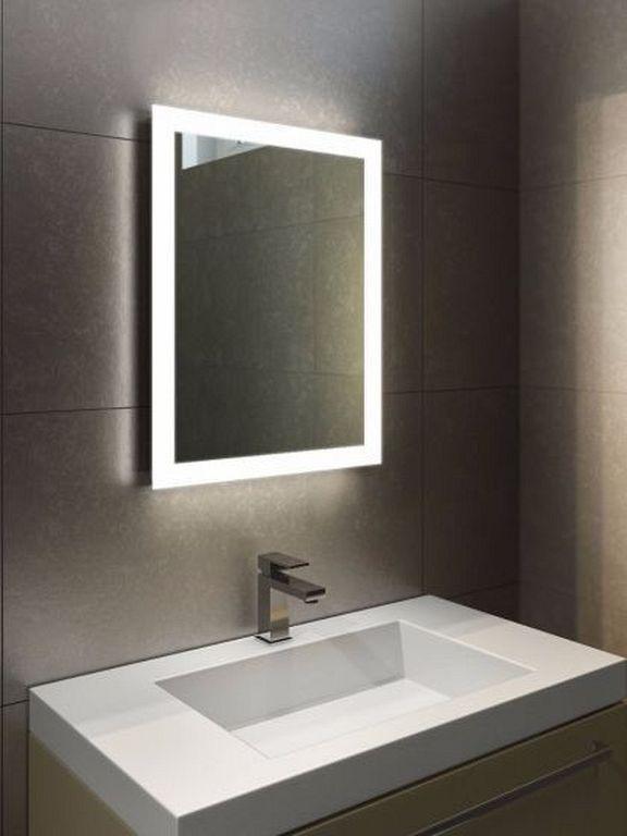 30 Modern Mirror Frame Designs With Led Lighting Bathroom Mirror
