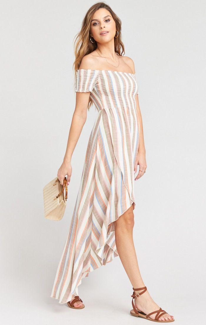 5c1a9b67b3397 Willa Maxi Dress ~ Shorebert Stripe in 2019 | Style | Dresses, Smock ...