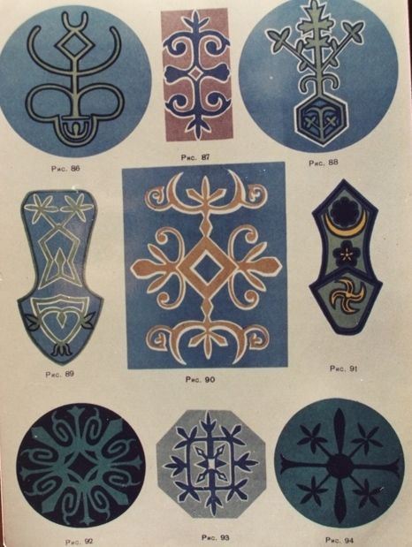 Caucasian motifs-Çerkes Motifleri