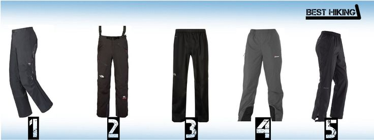 The best hiking waterproof pants reviewed