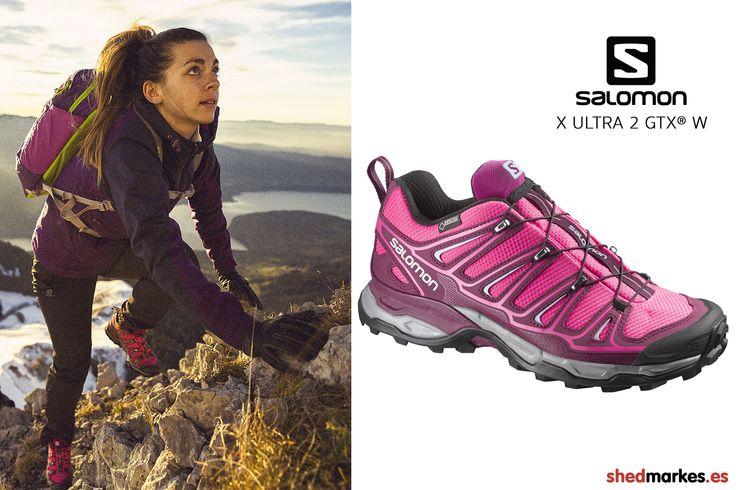 Zapatillas de trekking Salomon X Ultra 2 GTX para mujer http://www.shedmarks.es/zapatillas-trekking-y-senderismo-mujer/2741-zapatillas-salomon-x-ultra-2-gtx-rosa.html