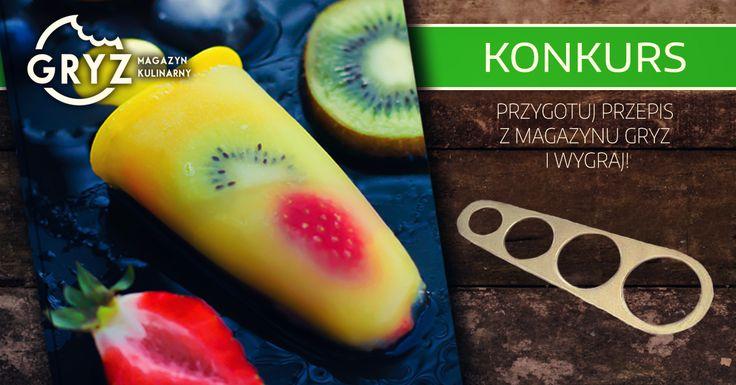 #konkurs przygotuj danie z #MagazynGRYZ 3 i wygraj! :)
