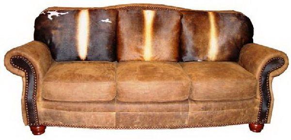 Cowhide Western Furniture Milano Sofa Western Furniture