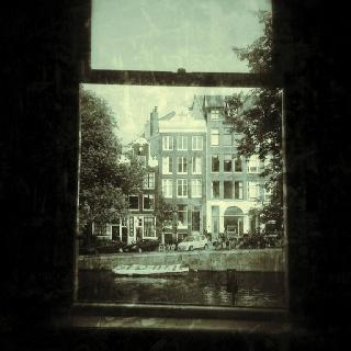 Outside of my window.... Singel, Amsterdam.