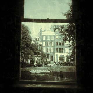 Outside of my window.... Singel, Amsterdam.