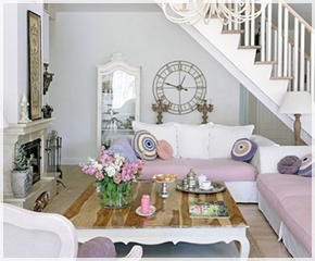 75 best salones images on pinterest lounges beach - Salones estilo shabby chic ...