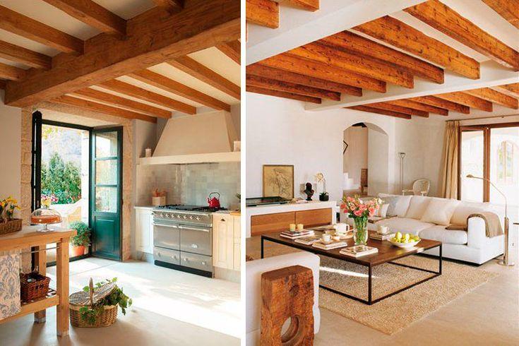 Las 25 mejores ideas sobre madera de techos con vigas en - Casas de madera con encanto ...
