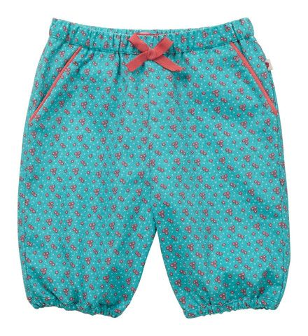 Piccalilly Baby Daisy Cord Bloomers Peacock Blue - Dandy Lions Boutique