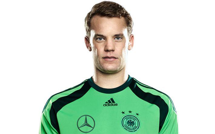Descargar fondos de pantalla Manuel Neuer, Alemania, el Bayern de Múnich, el portero alemán, futbolista, fútbol