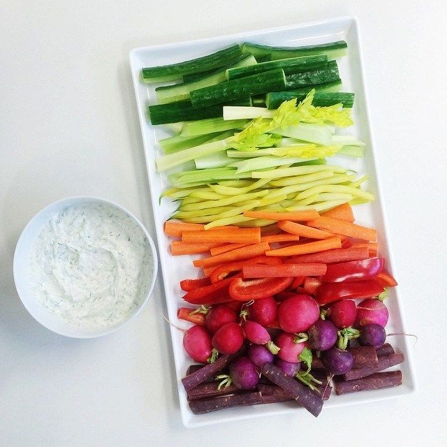 Make raw veggies more fun with this easy Rainbow Crudite idea | Food & Wine