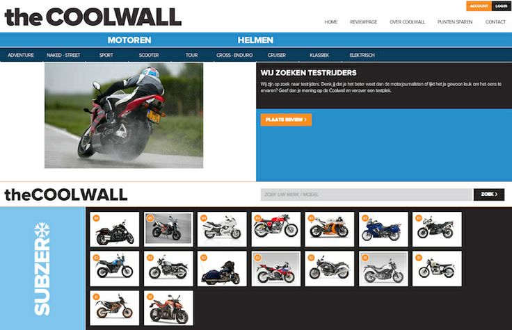 Treedt in contact met motorfiets importeurs via the Coolwall