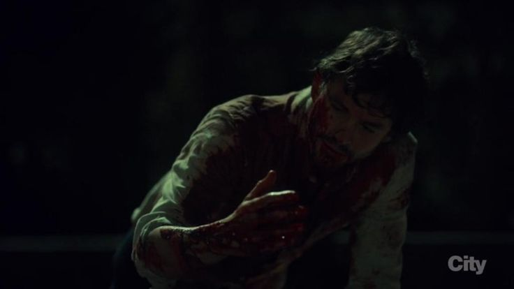 """It really does look black in the moonlight."" #HannibalFinale"