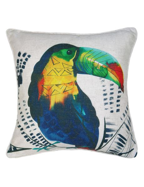 This eye-catching cushion will brighten up your room instantly.