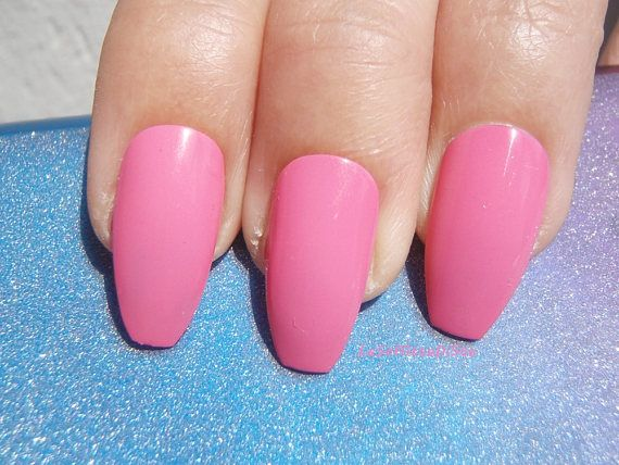 rosa unghie ballerina glossy mandorla nozze sposa damigella