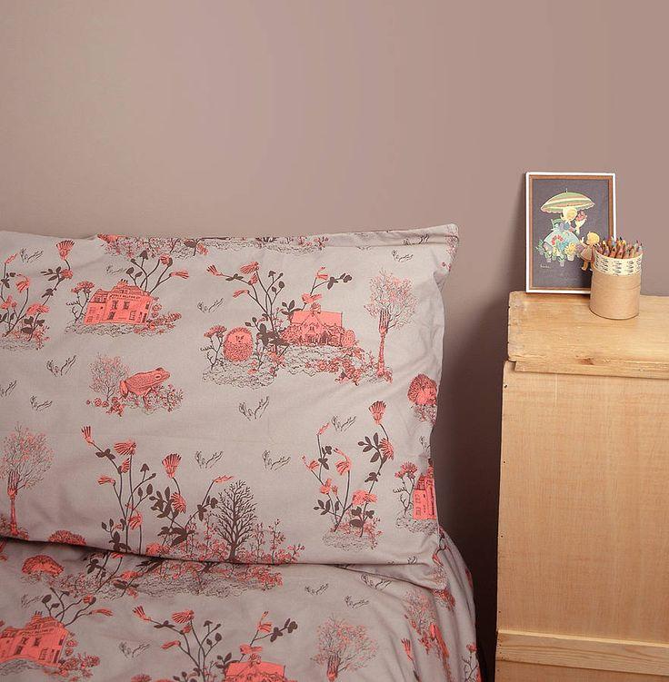 Woodlands Pillow Case Set - from Sian Zeng