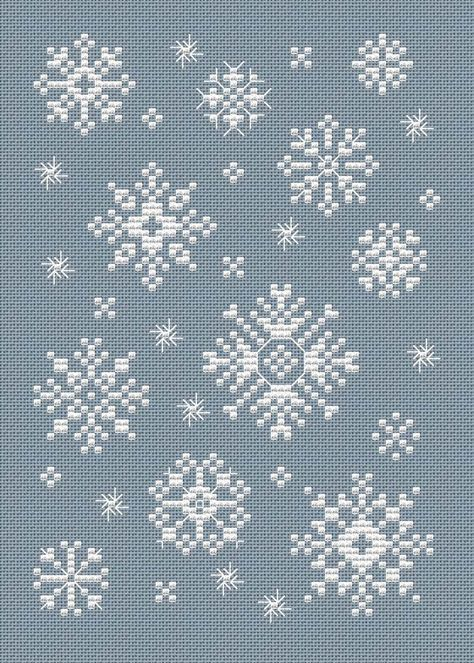 Free Snowflake pattern by Sue Hillis
