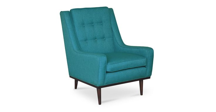 zanui desk chair french bistro chairs for sale best 25+ teal armchair ideas on pinterest | upholstered chairs, timorous beasties and ...