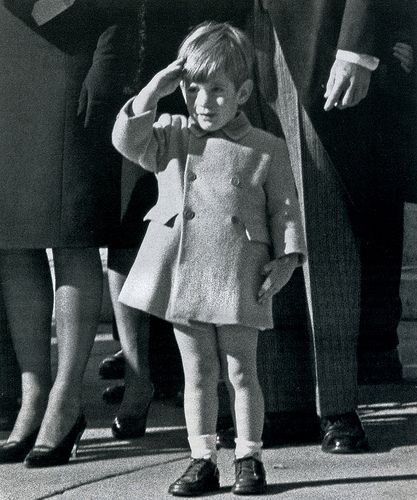 In one of the iconic photos of the '60s, John Kennedy Jr, 3, saluted his father's casket in Washington three days after JFK was assassinated in Dallas. 1963  I was in the 7th grade.