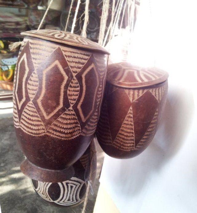 Totumo craft - San Antero Northern Colombia - Jan 2013