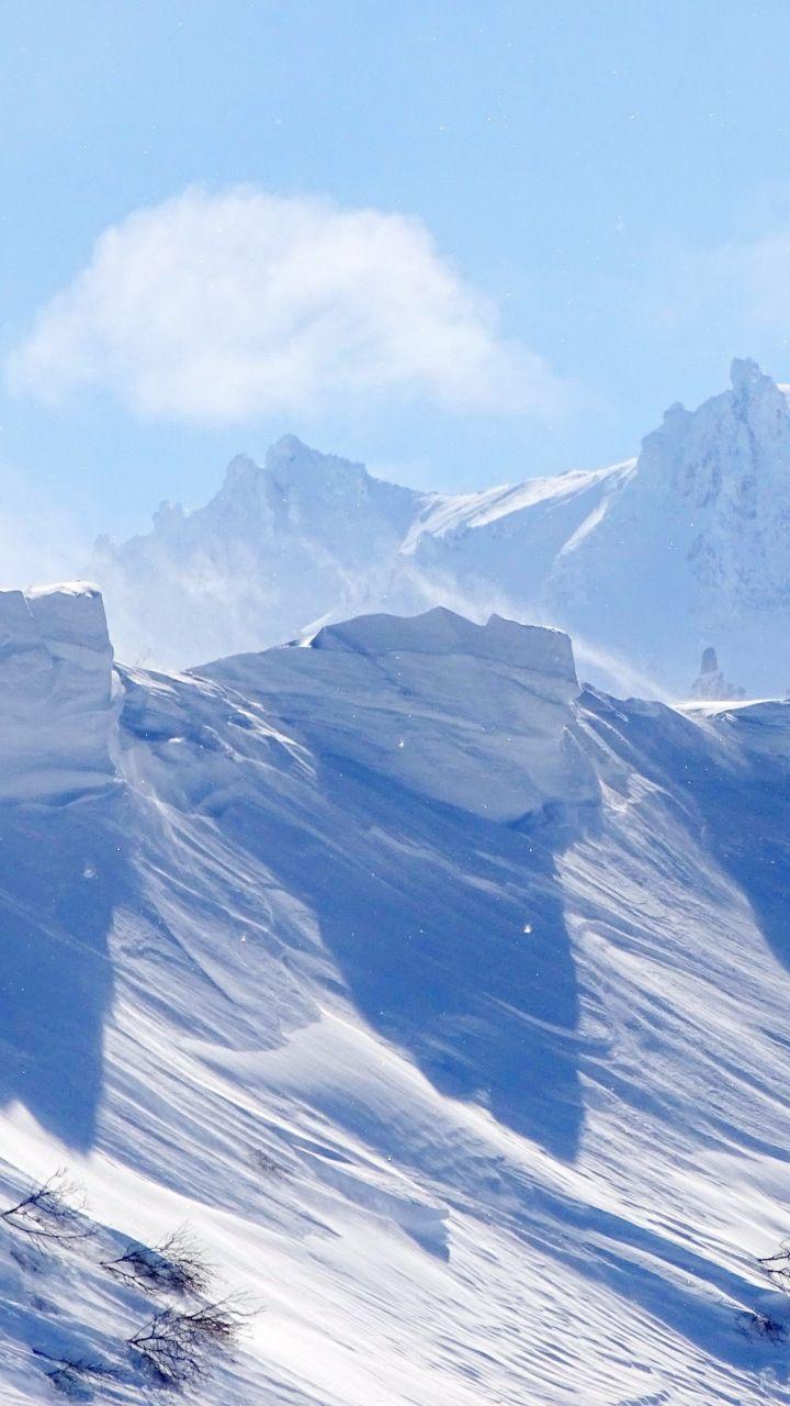 Landscape Winter Snow Mountains 720x1280 Wallpaper Snow Mountain Winter Landscape Mountains