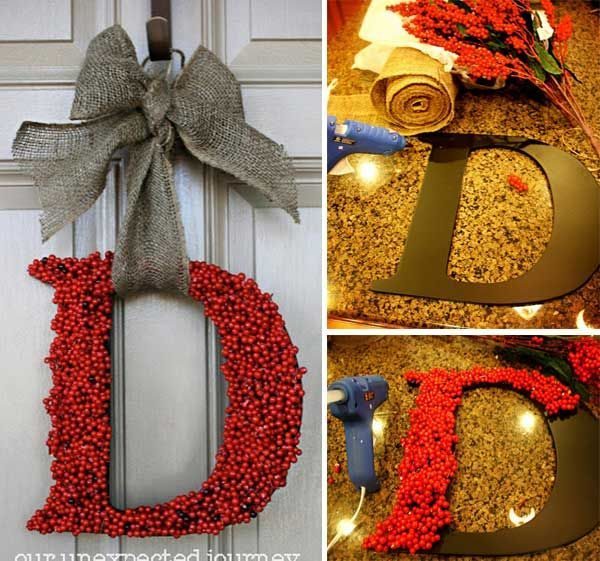 Top 35 Astonishing DIY Christmas Wreaths Ideas #Christmas #ChristmasSerendipity #diy #crafts #holiday