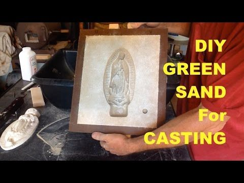 DIY GREEN SAND FOR CASTING - CHEAP, SIMPLE and FAST - MSFN - YouTube