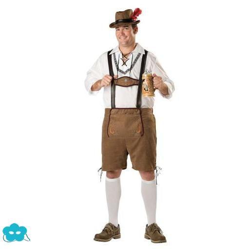 Disfraz de Tirolés talla grande para hombre