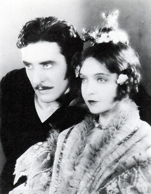 Lillian Gish and John Gilbert