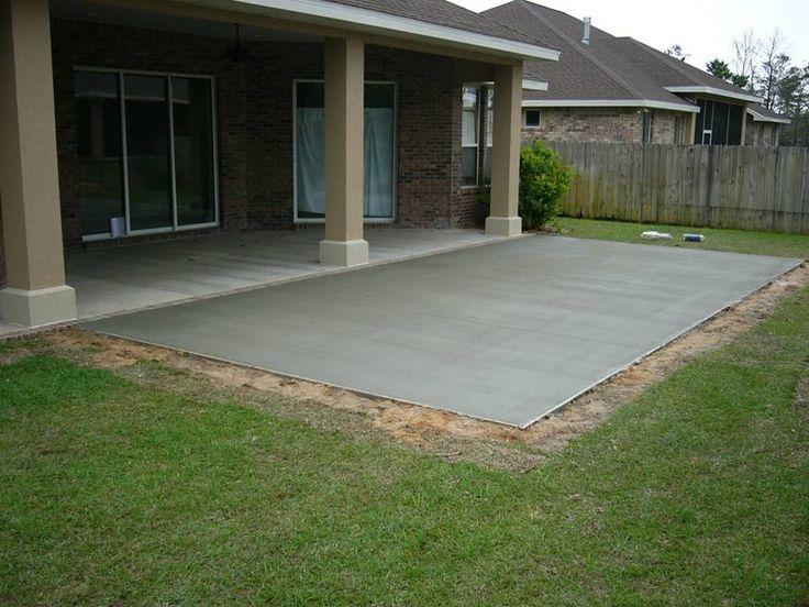 Marvelous Cement Patio | Gardens   Outdoor Living | Pinterest | Cement Patio, Cement  And Patios