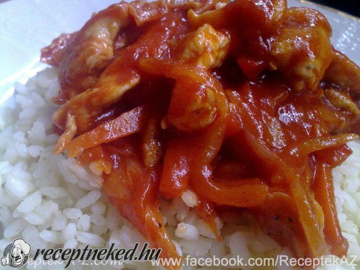 Kipróbált Szecsuáni csirke recept egyenesen a Receptneked.hu gyűjteményéből. Küldte: Rumanne Nagy Szilvia
