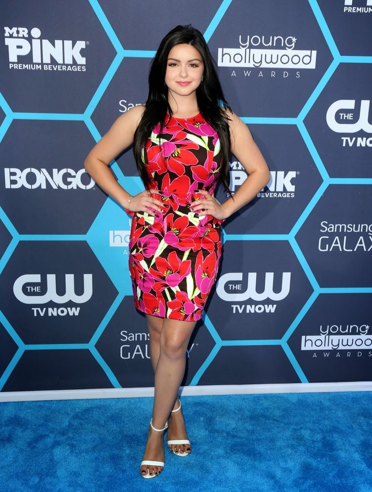 Ariel Winter In A Tropical Kate Spade Look At The 2014 Young Hollywood Awards Celebrities