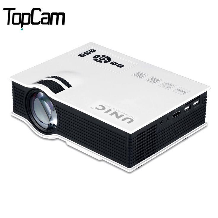 UNIC UC40 + Mini Pico Portable 3D Projecteur HDMI Home Cinéma Beamer Multimédia Proyector Full HD 1080 P Vidéo Projecteur dans Projecteurs de Consumer Electronics sur AliExpress.com | Alibaba Group