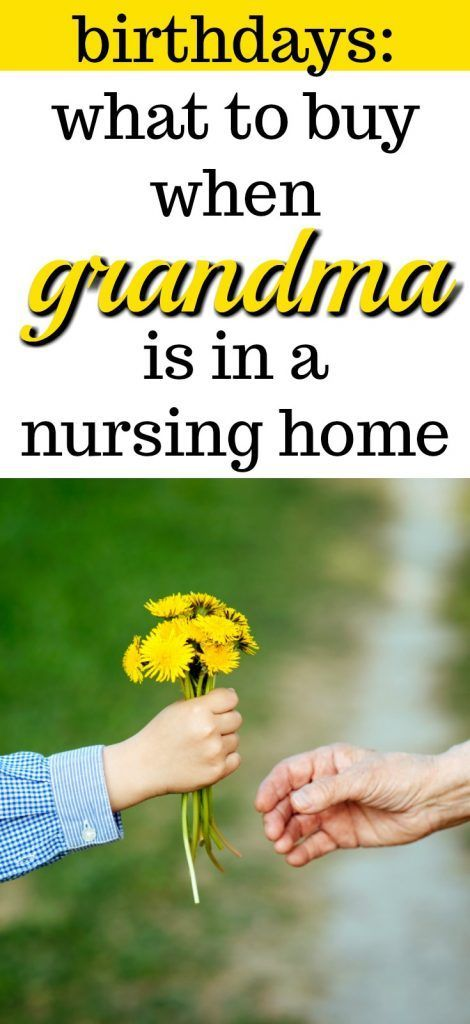What to Buy Grandma for her Birthday | Nursing Home Gifts | Gift Ideas for Nursing Home Presents | Christmas Presents for the Elderly | Assisted Living Facilities