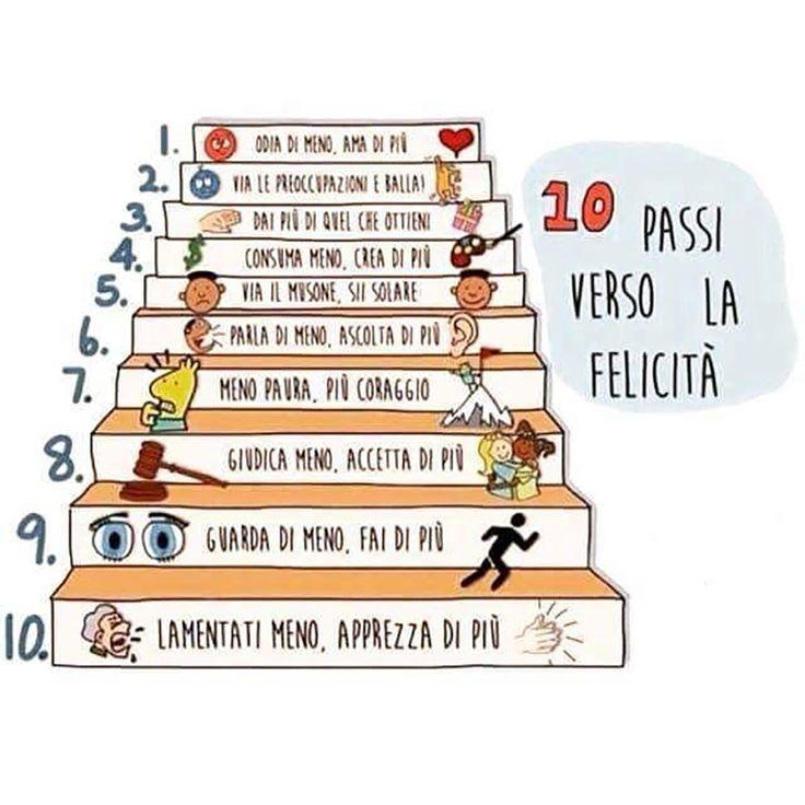 10 passi verso la felicità