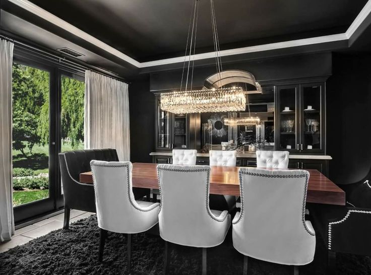 Make a powerful statement with a choice that's anything but gloomy. More from Orange Coast Interior Design: http://ht.ly/Vl5t30gYp9t