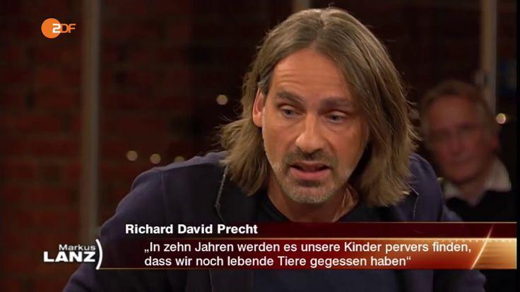 """Richard David Precht zum Thema """"Fleisch essen"""", Lanz, Oktober 2016 - YouTube"""