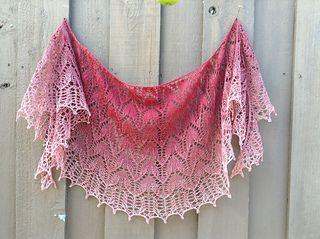 ravelry free pattern gradient yarn