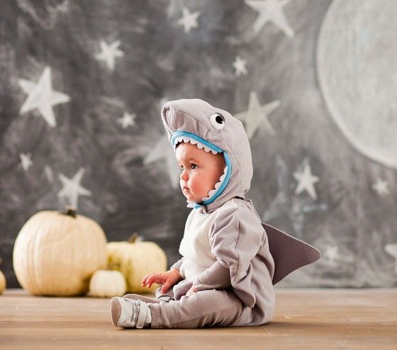 i think i found what Rowe is going to be for Halloween this year...Baby Shark Costume | Pottery Barn Kids